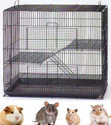 Mcage 3-Levels Small Animal Cage