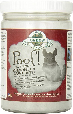 Oxbow Poof! Chinchilla Dust