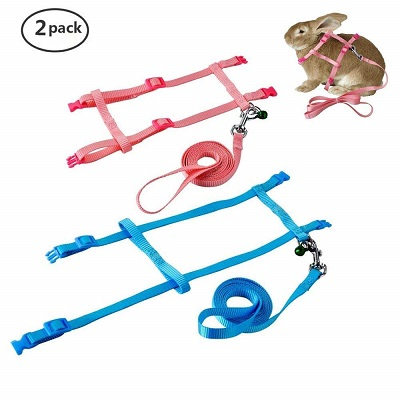 Persuper 2 Pack Pet Harness Leash