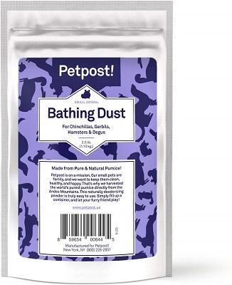 Petpost Chinchilla Bath Dust for Small Animals