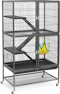 Prevue Hendryx Black Feisty Ferret Cage
