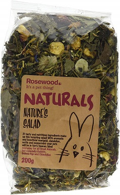 Rosewood Pet 1 Pouch Nature's Salad Food for Small Animals