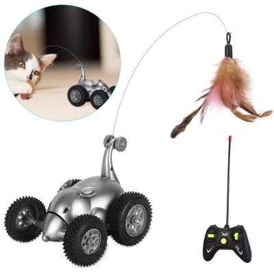SlowTon Remote Cat Toy