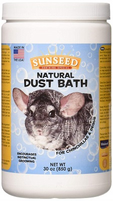 Sunseed Natural Dust Bath for Chinchillas