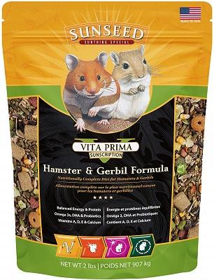 Sunseed Vita Prima - Hamster & Gerbil, Dwarf Hamster Varieties