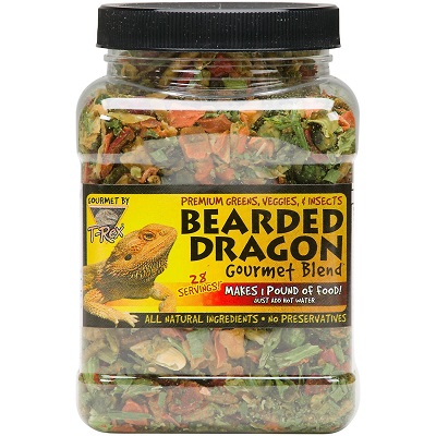 T-Rex Bearded Dragon Gourmet Food