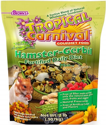Tropical Carnival Gourmet Hamster Food