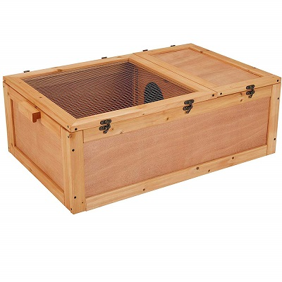 Unipaws Wooden Tortoise House