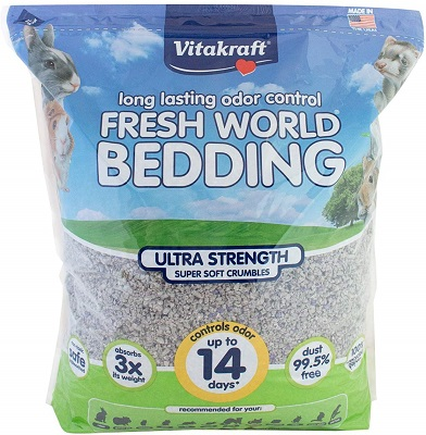 Vitakraft Fresh World Strength Crumble Bedding for Small Animals