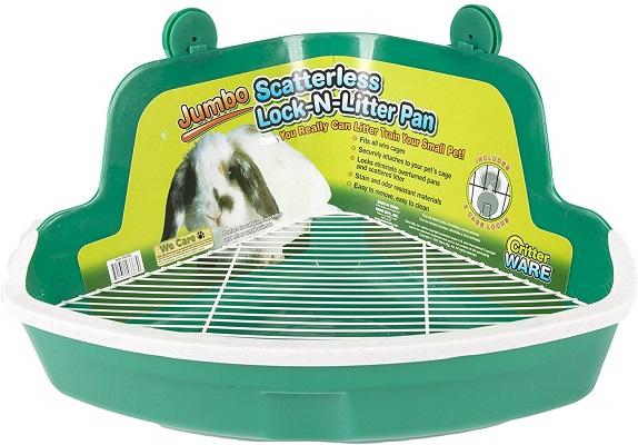 Ware Manufacturing Jumbo Plastic Lock-N-Litter Small Pet Pan