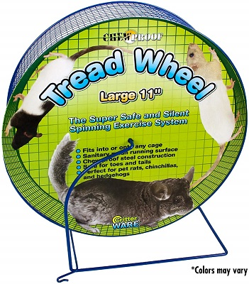 Ware Manufacturing Metal Small Pet Tread Exercise Wheel