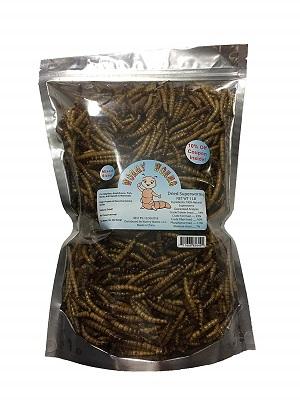 Wormy Worms Dried Superworms