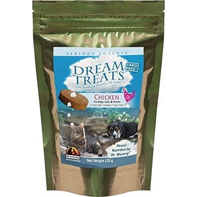 Wysong Dream Treats for Dogs,Cats,Ferrets