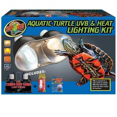 Zoo Med Acquatic Turtle UVB Heat Lighting Kit