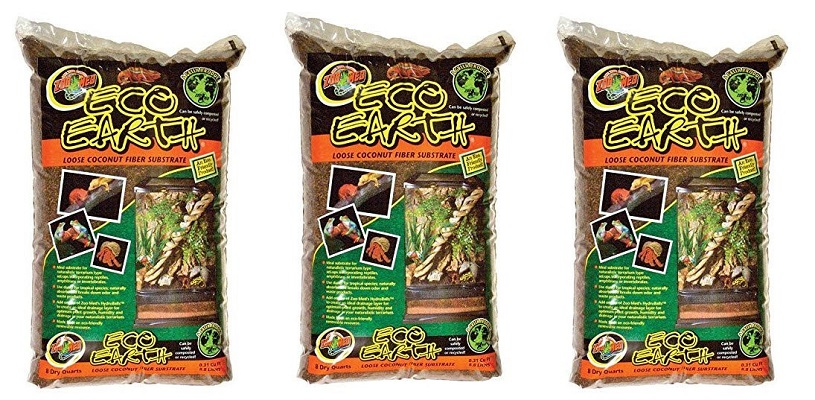 Zoo Med Eco Earth Lose Coconut Fiber Substrate