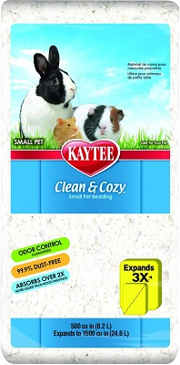 Kaytee Clean & Cozy White Small Animal Bedding