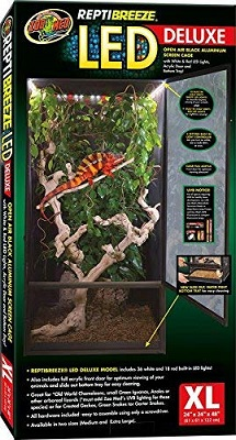 Zoo Med ReptiBreeze LED Deluxe Habitat
