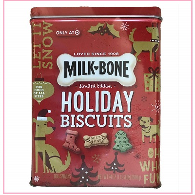 Limited Edition Milk Bone Holiday Biscuits