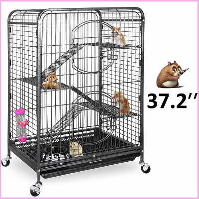 SUPER DEAL 37.2'' Guinea Pig Cage